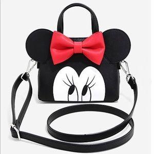 NEW Disney Minnie Mouse Loungefly Mini Handbag